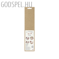 Papír masni (6 db) - kicsi, rózsaszín