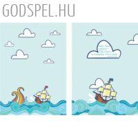 Spirál jegyzetfüzet A5 – Boldog, akinek segítsége