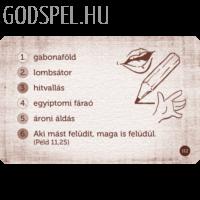 Talentumok – Aktivizáló bibliai társasjáték