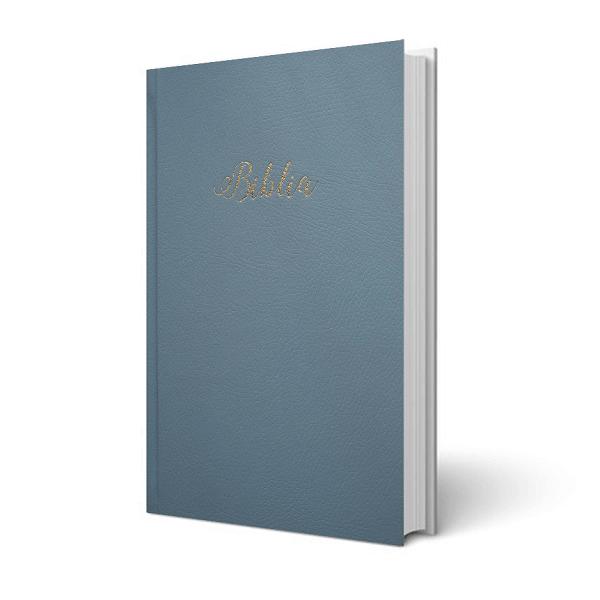 Biblia – egyszerű fordítás, világoskék, keménytáblás