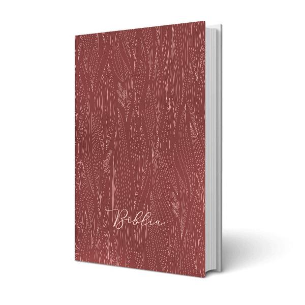 Biblia – egyszerű fordítás, fűszál mintás