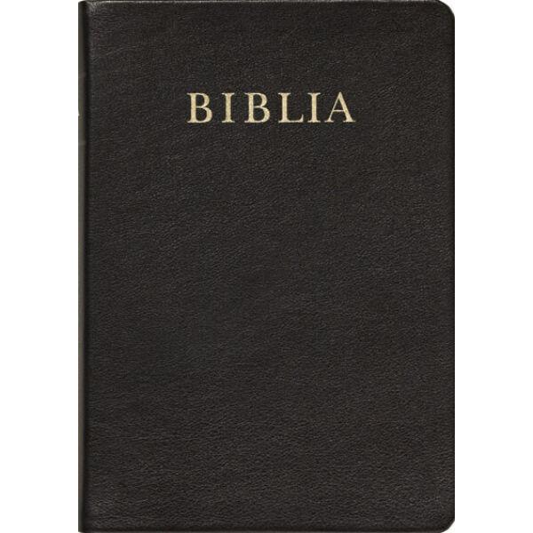 Biblia - revideált új fordítás, bőrkötés, aranymetszés, nagy