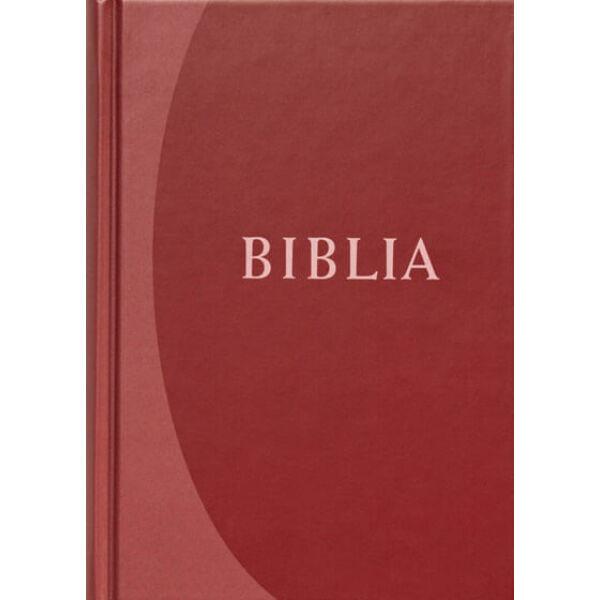 Biblia - revideált új fordítás, bordó, közepes