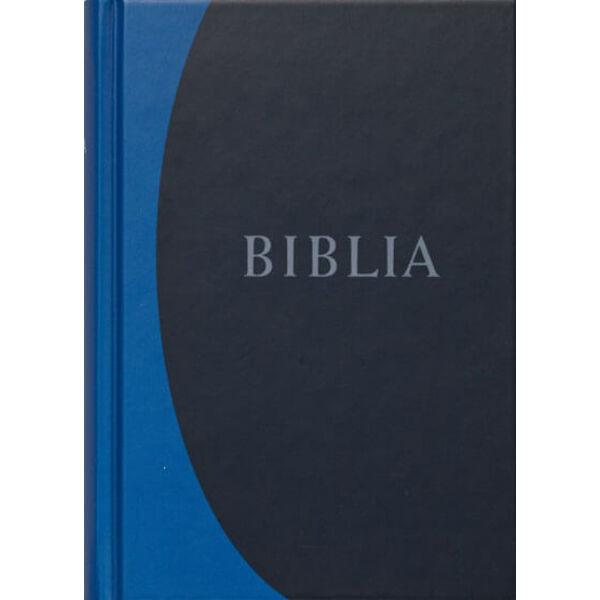 Biblia - revideált új fordítás, kék, közepes