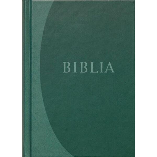 Biblia - revideált új fordítás, zöld, közepes