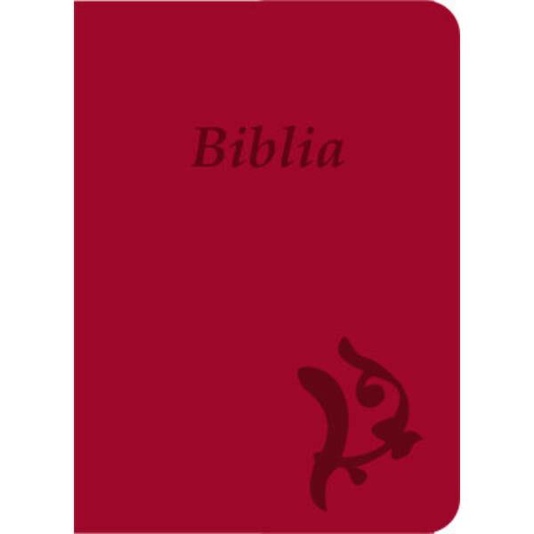 Biblia - új Károli, ciklámen, varrott, nagy