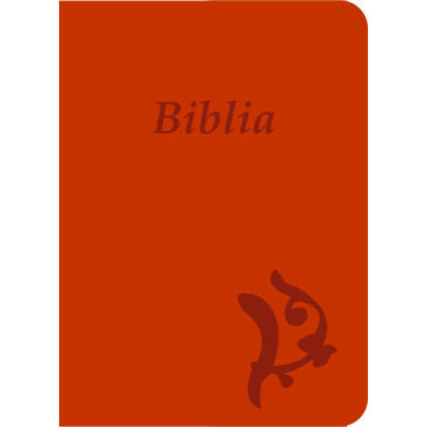 Biblia – új Károli, narancs, varrott, nagy