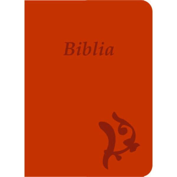 Biblia - új Károli, narancs, varrott, nagy