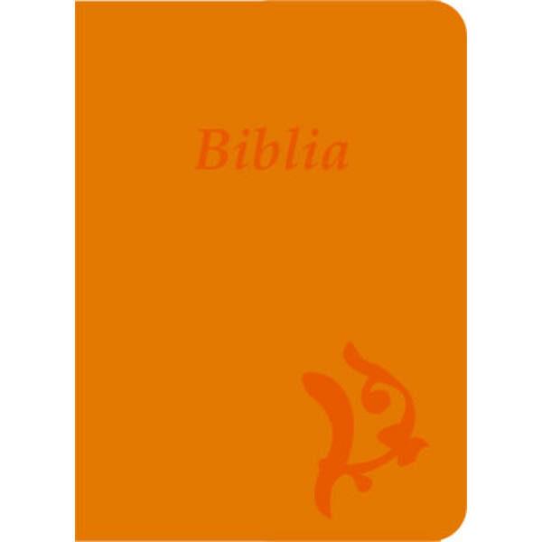 Biblia - új Károli, sárga, varrott, nagy