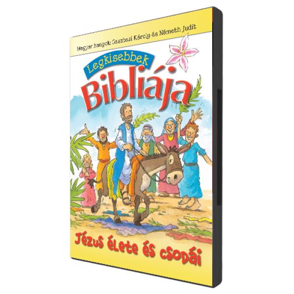 Legkisebbek Bibliája – Jézus élete és csodái DVD