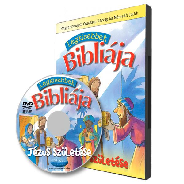 Legkisebbek Bibliája – Jézus születése DVD