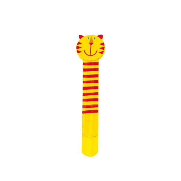 Állatos fa könyvjelző - sárga