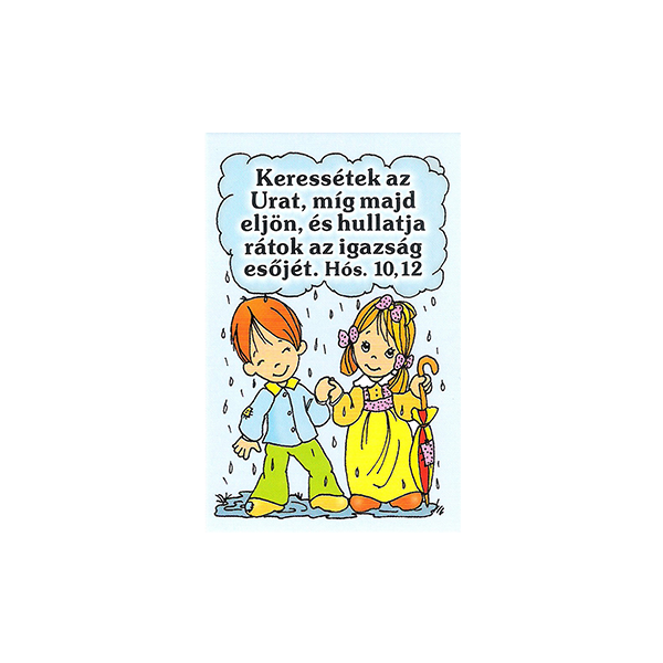 Igés kártya gyerekeknek – Keressétek az Urat