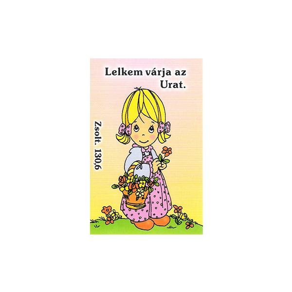 Igés kártya gyerekeknek - Lelkem várja az Urat