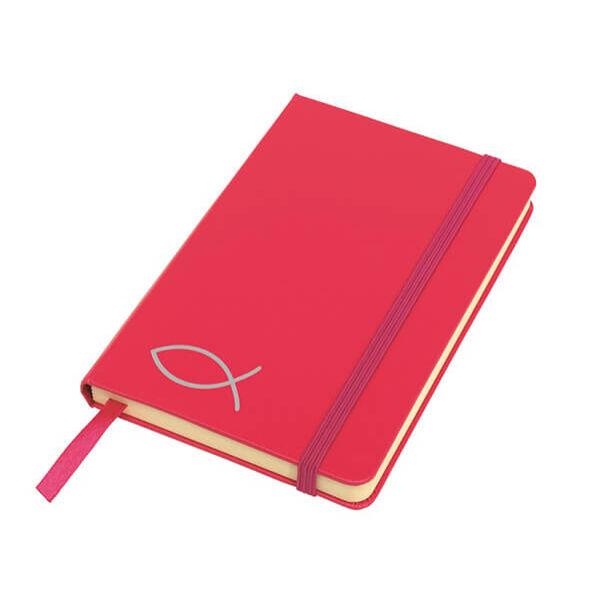 A6-os halas jegyzetfüzet - pink