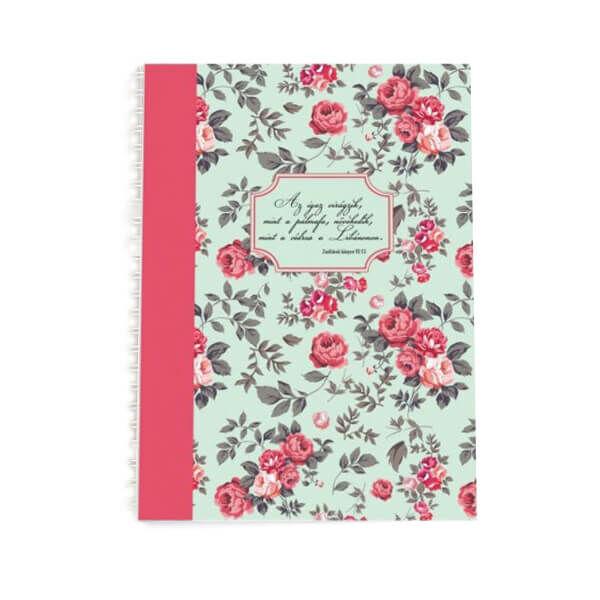 Spirál jegyzetfüzet A5 – Az igaz virágzik