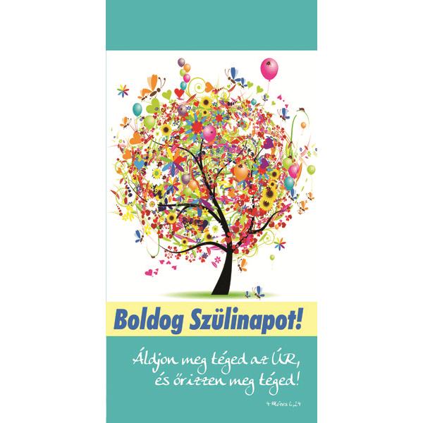 Igés borítékos képeslap – Áldjon meg téged az Úr (születésnap)