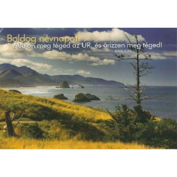 Igés képeslap – Áldjon meg téged az Úr (névnap)