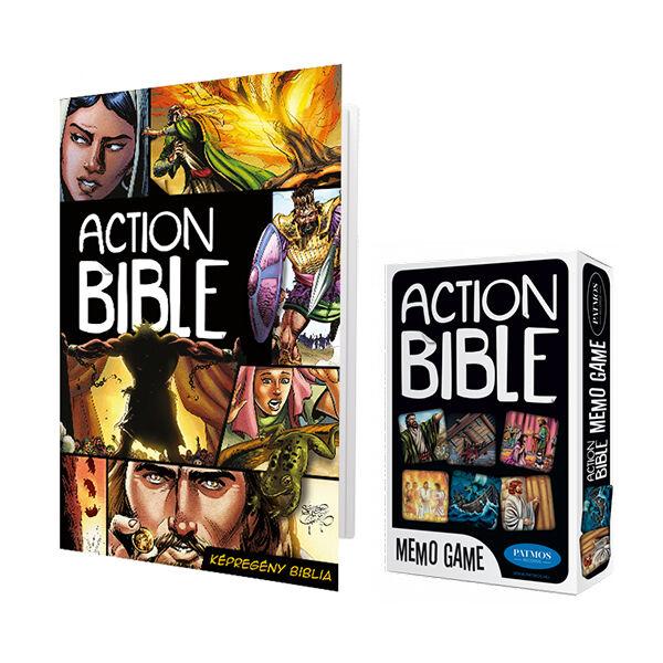 Action Bible - Képregény Biblia + memóriajáték