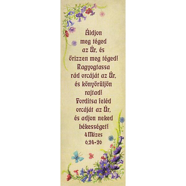 Igés könyvjelző - Áldjon meg téged az Úr (álló)