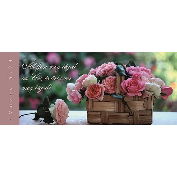 Igés könyvjelző - Áldjon meg téged az Úr (fekvő)