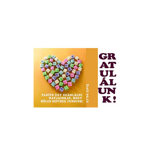 Minikártya – Gratulálunk!