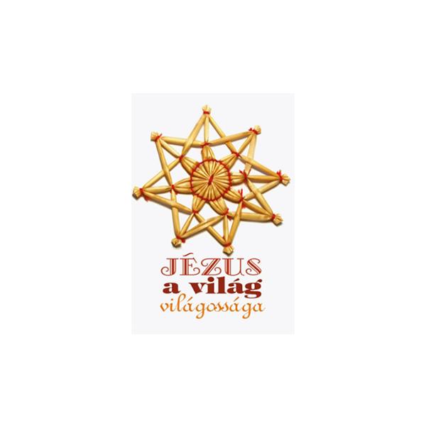 Karácsonyi minikártya – Jézus a világ világossága