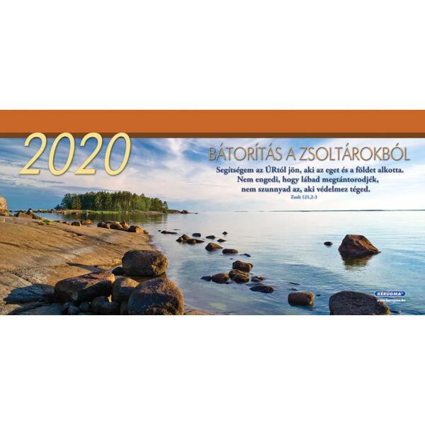 Nagy asztali naptár 2020 – Bátorítás a Zsoltárokból