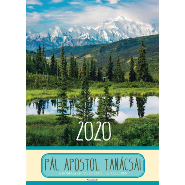 Nagyméretű falinaptár 2020 – Pál apostol tanácsai