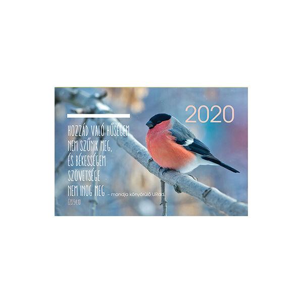 Kártyanaptár 2020 – Hozzád való hűségem