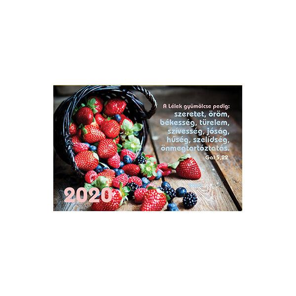 Kártyanaptár 2020 – A Lélek gyümölcse