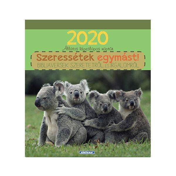 Képeslapnaptár 2020 – Szeressétek egymást