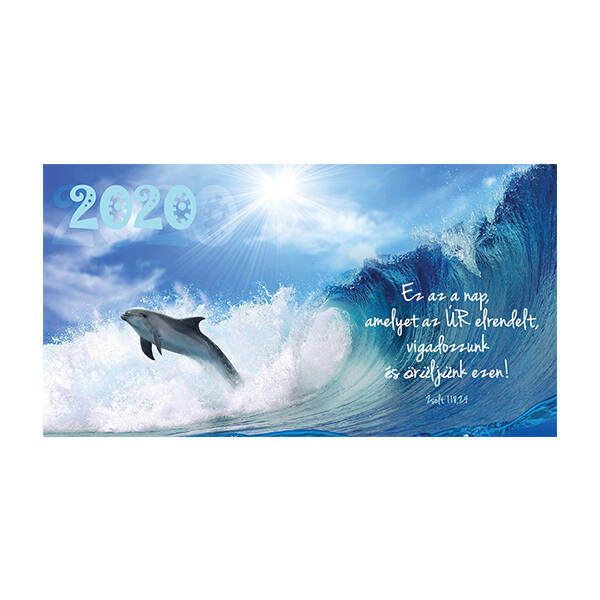 Zsebnaptár 2020 – Ez az a nap