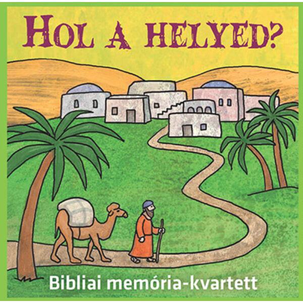 Hol a helyed? - Bibliai memória-kvartett