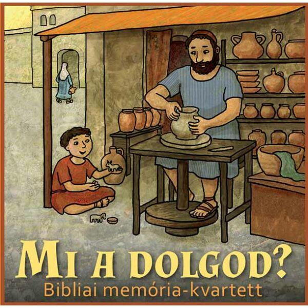 Mi a dolgod? – Bibliai memória-kvartett