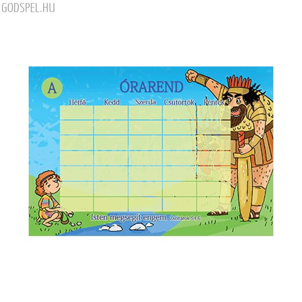 Órarend – Isten megsegít engem