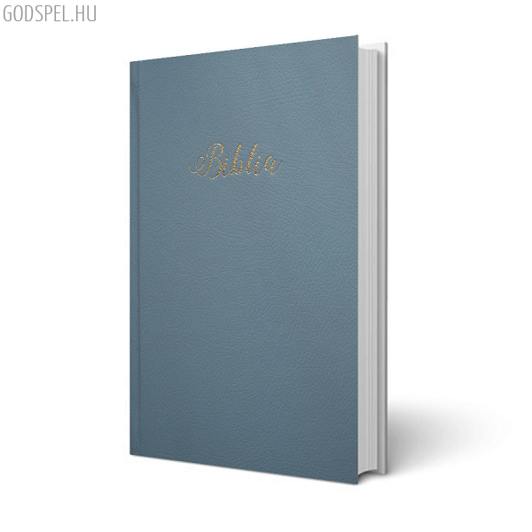 Biblia - egyszerű fordítás, világoskék, keménytáblás