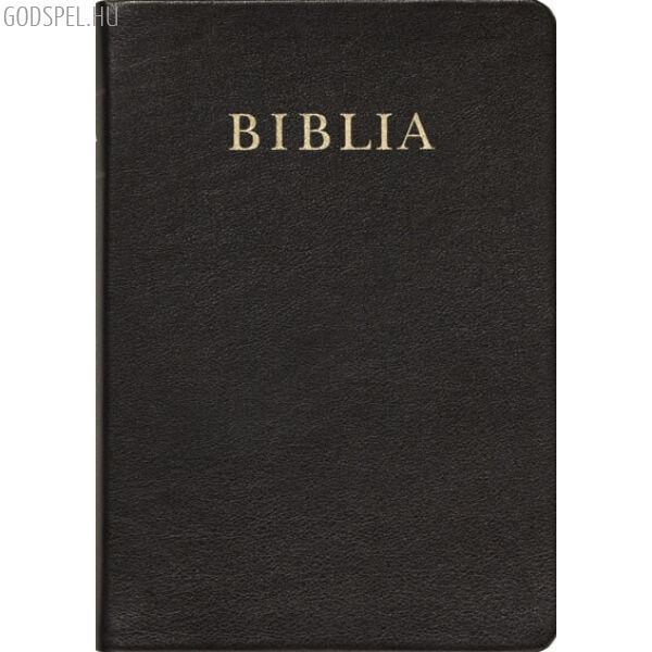 Biblia – revideált új fordítás, bőrkötés, aranymetszés, nagy