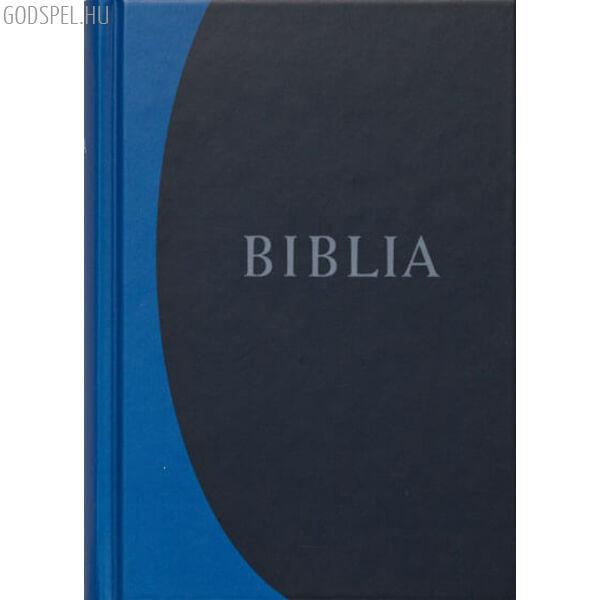 Biblia - revideált új fordítás, kék, nagy