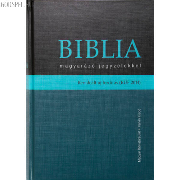 Biblia - revideált új fordítás, magyarázó jegyzetekkel