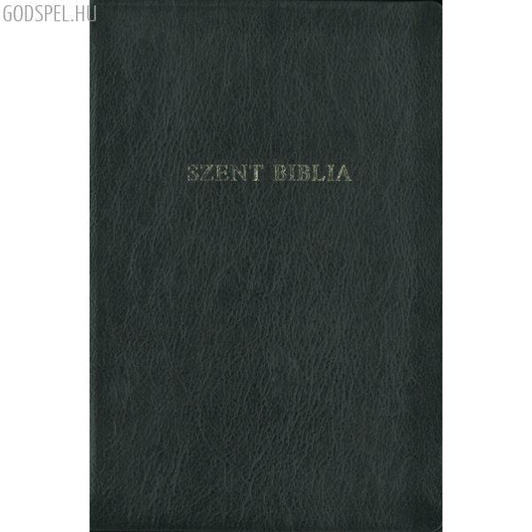 Biblia - régi Károli, kis családi, bőrkötés, aranymetszés
