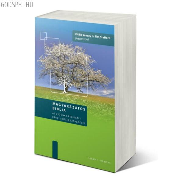 Magyarázatos Biblia (új Károli) – keménytáblás