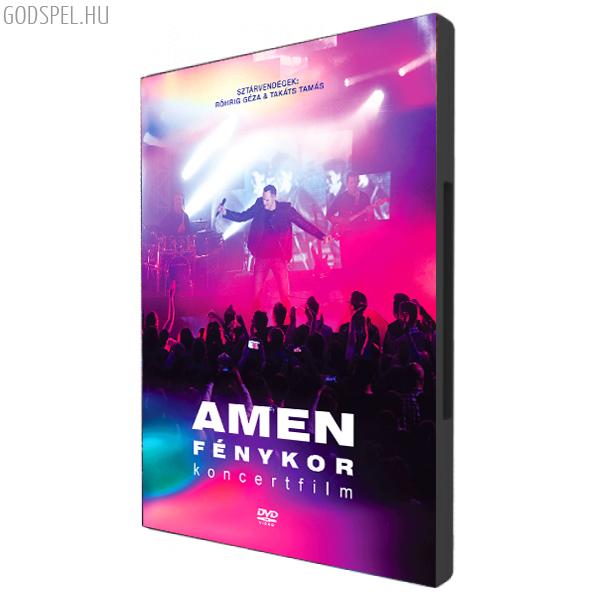 AMEN Fénykor koncerfilm DVD