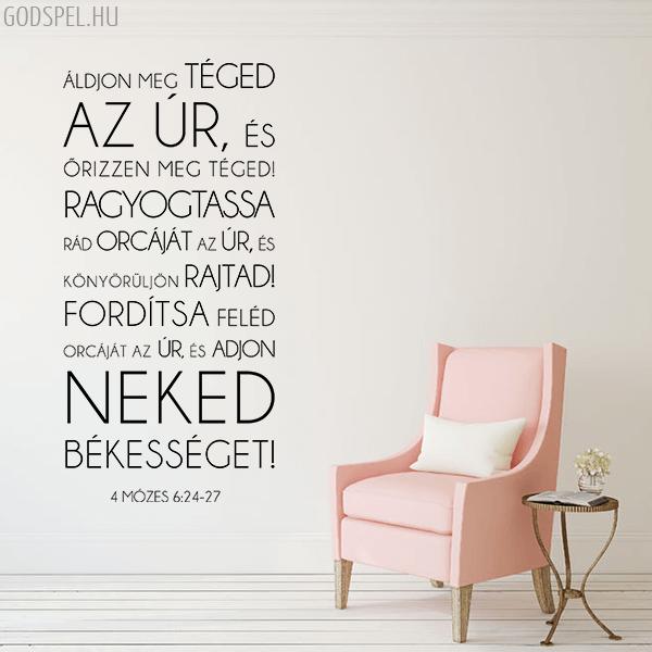 Falmatrica – Áldjon meg téged az Úr