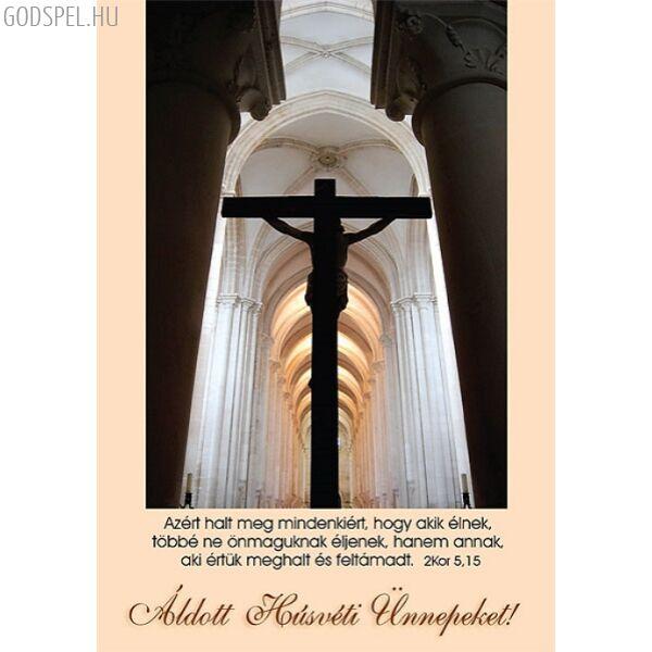 Húsvéti képeslap – Azért halt meg mindenkiért