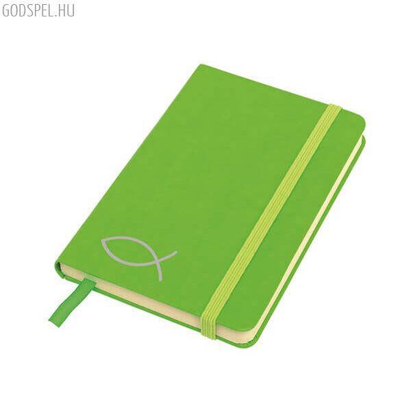 A6-os jegyzetfüzet – zöld