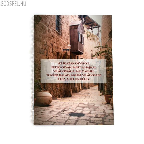Spirál jegyzetfüzet A5 – Az igazak ösvénye