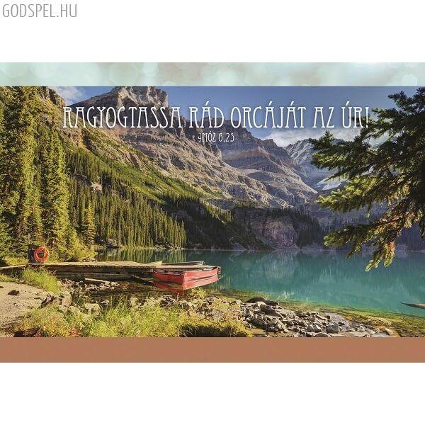 Igés képeslap – Ragyogtassa rád orcáját az Úr!