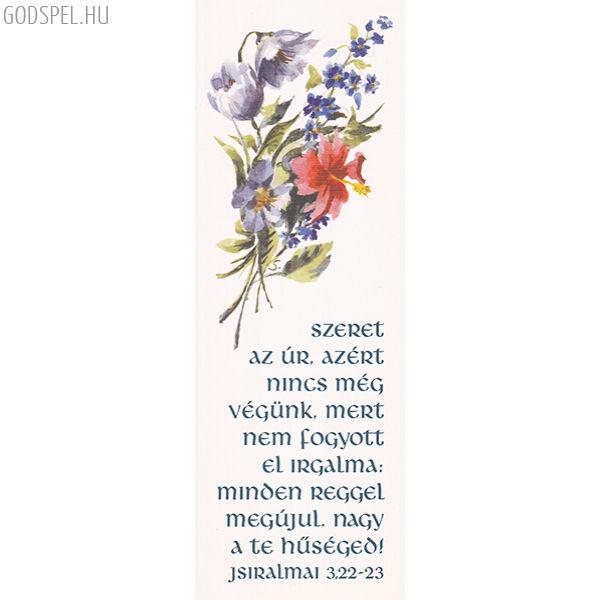 Igés könyvjelző – Szeret az Úr