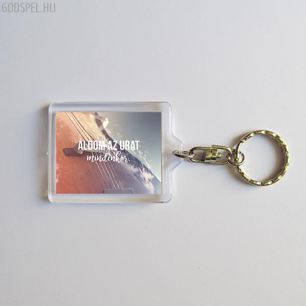 Igés kulcstartó - Áldom az Urat mindenkor